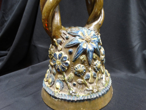 Mexican Tree of Life Pottery Bell