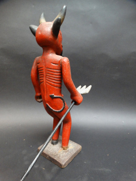 Guatemalan Devil with Staff