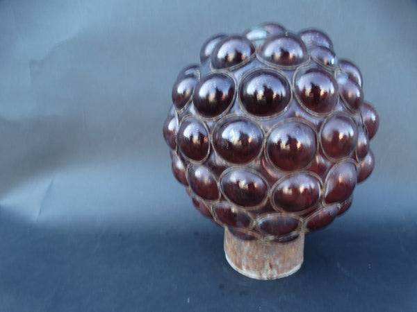 Mexican Hand Blown Glass Lamp Globe