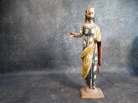 19th Century Mexican Standing Christ M2143