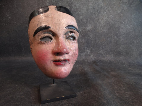 19th Century Guatemalan Mask with Stand M2153