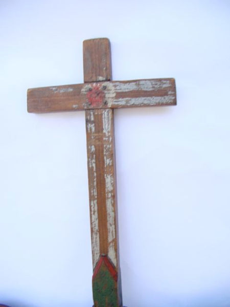 Mexican Double-Sided Processional Cross