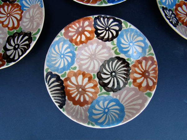 Mexican Pinwheel decorated salad plates
