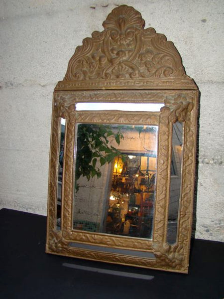 Mexican Tin Mirror circa 1920's