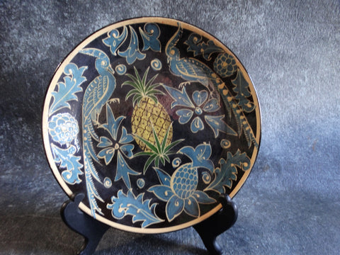 Mexican Fantasia Pineapple Plate M2706