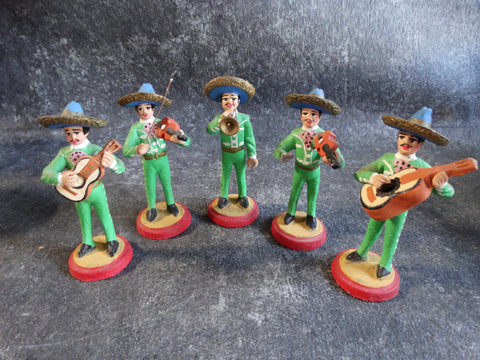 Mexican Pottery Mariachi Band M2718