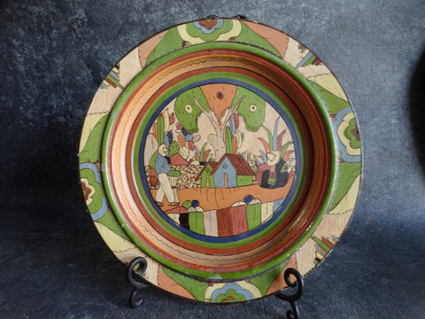 Mexican Petatillo Wall Plate/Charger M2727