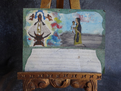 Ex Voto Supplication of the Virgin c 1940s M2729