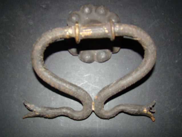 Serpentine Door Knocker
