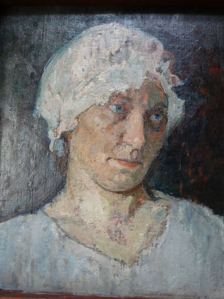 "Ejnar Hansen ""Woman In A Mob Cap"""