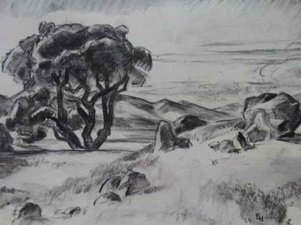 Ejnar Hansen Landscape with Trees