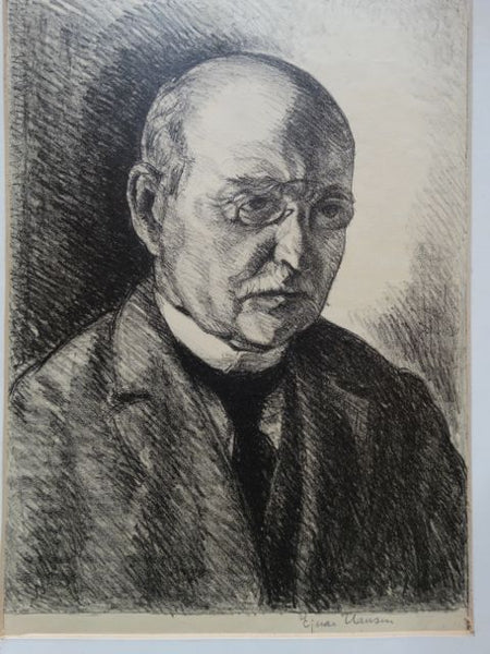 Ejnar Hansen, Portrait of his Father