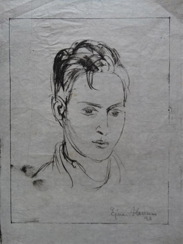 Ejnar Hansen, Portrait of a Young Man