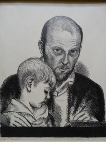 Ejnar Hansen, Father and Son