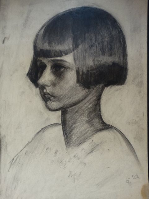 Ejnar Hansen, Girl with a Bob