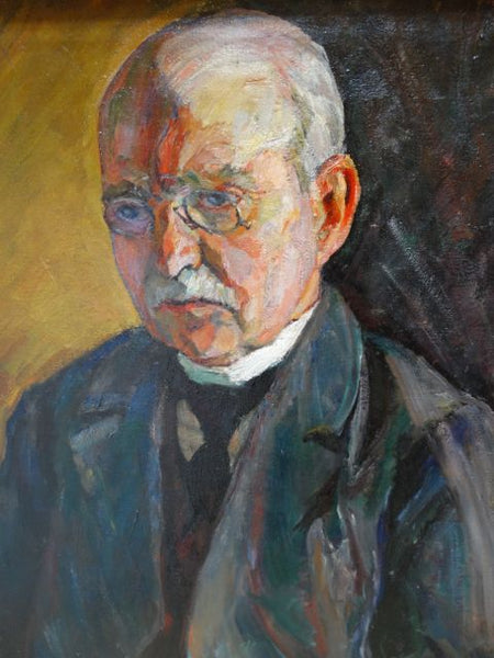 Ejnar Hansen Portrait of His Father