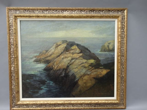 DeWitt Parshall Point Lobos Oil on Canvas P1076