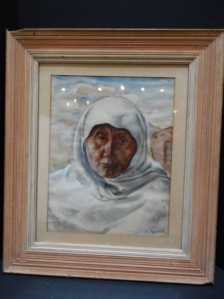 "Ejnar Hansen ""Old Indian Woman"""