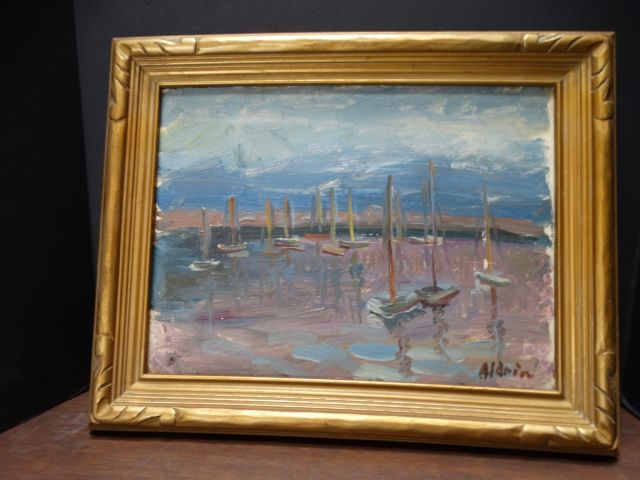 Anders Aldrin Landscape - California Harbor
