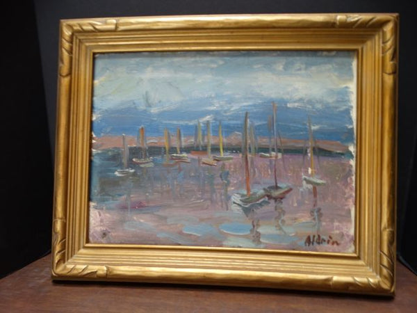 Anders Aldrin Landscape - California Harbor P1132