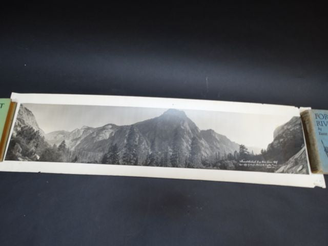 """Grand Sentinel"" Panoramic B & W Photograph"