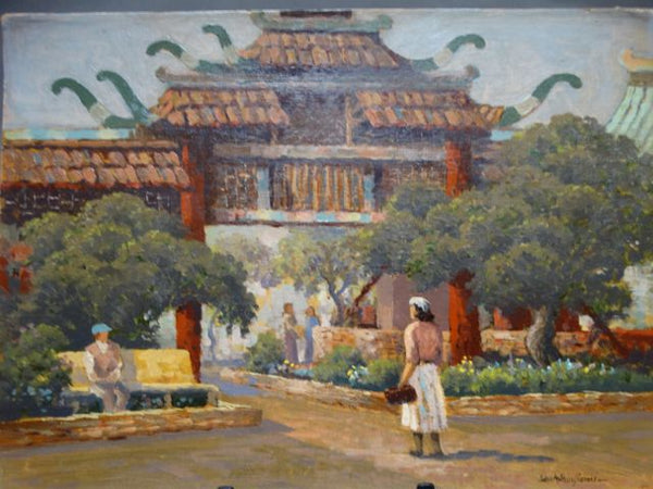 John Anthony Conner: Entrance, Chinatown, Los Angeles
