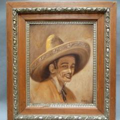 A. Wood: Mexican In Sombrero