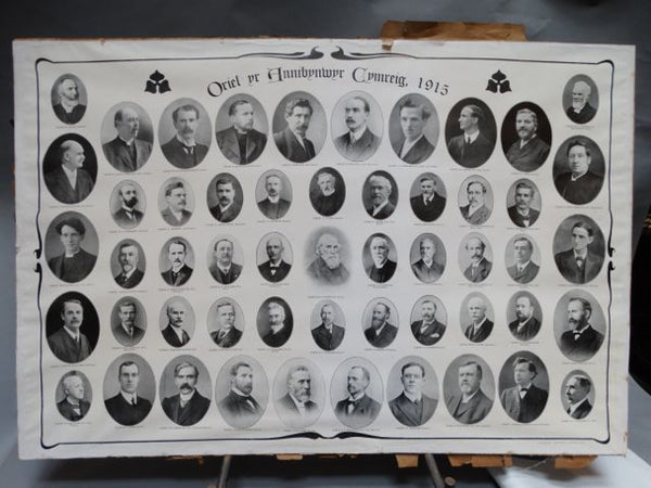 Union of Welsh Independents 1915 Member Portrait Poster