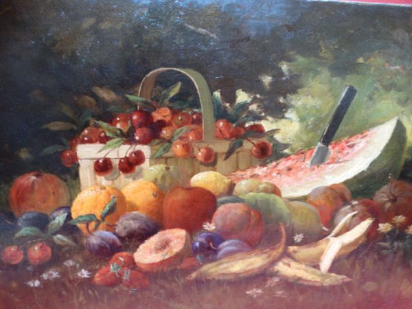 Frederick Schafer: Still Life with Fruit