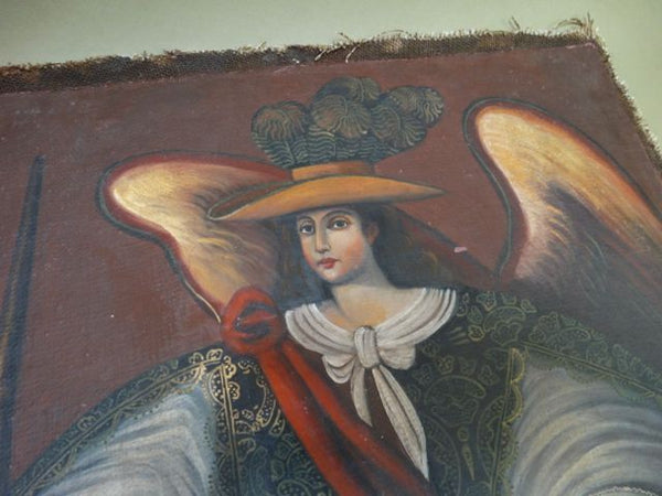 Spanish Colonial Archangel Ángel Arcabucero