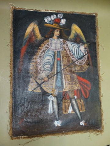 Spanish Colonial Archangel Raphael