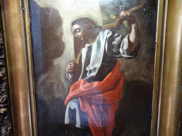 18th Century Spanish Colonial Portrait of Jesus P1565