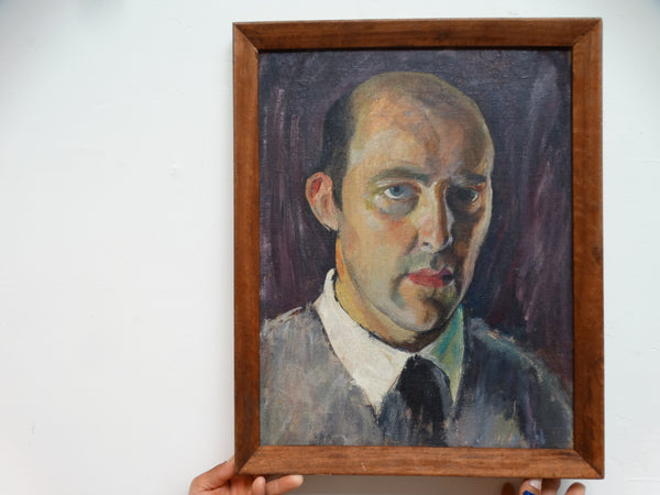 Ejnar Hansen: Self-Portrait