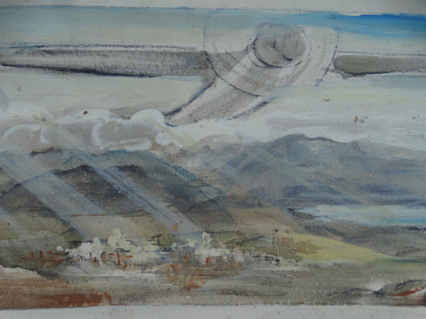 Ejnar Hansen: The Journey West: California Mural Color Study