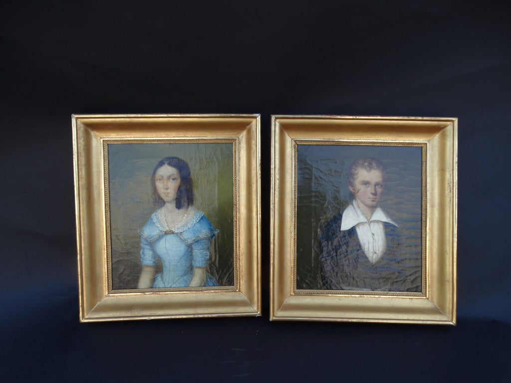 Pair of 19th Century Family Portraits