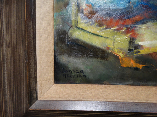 Lannea Melzian: Industrial Abstract