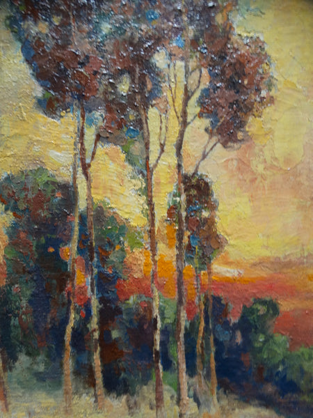 Alice Blair Thomas: Eucalyptus Trees
