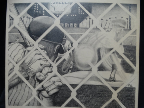 Frank Gutierrez: Through the Chainlink Fence at Dodger Stadium