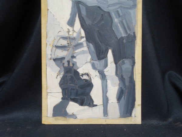 Albert Londraville Grisaille Study for Barbary Pirate Print