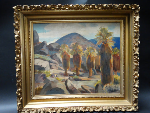 Palm Canyon by Frederick Penney c 1930