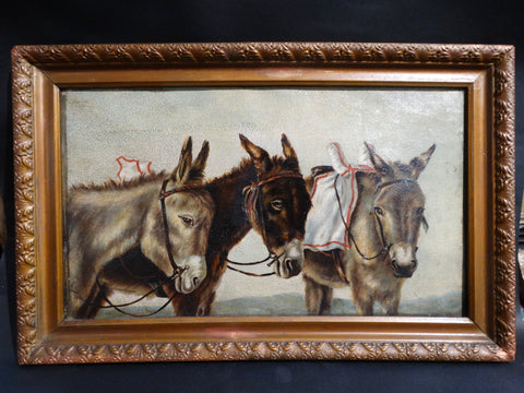 Three Donkeys c.1870