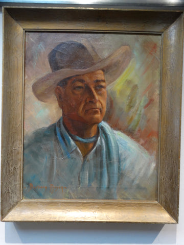 Barbara Mann- Portrait of a Rancher