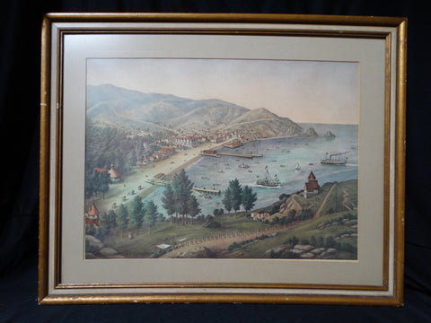 View of Avalon, Catalina Island - Print