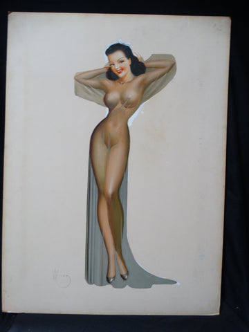 Irv Wyner: Pin-Up Gal Negligee