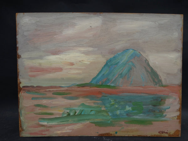 Anders Aldrin: Sunset on Morro Rock