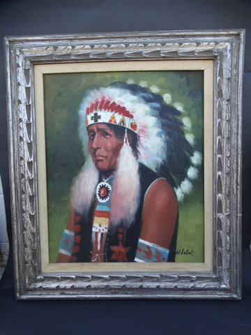 H. Keler: Indian Chief Portrait