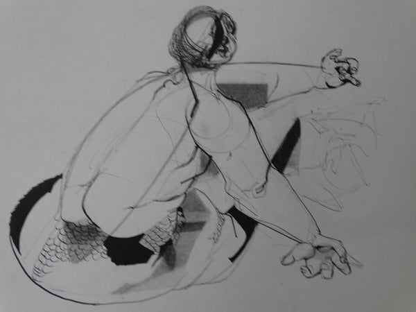Walt Peregoy: Illustration of Figure