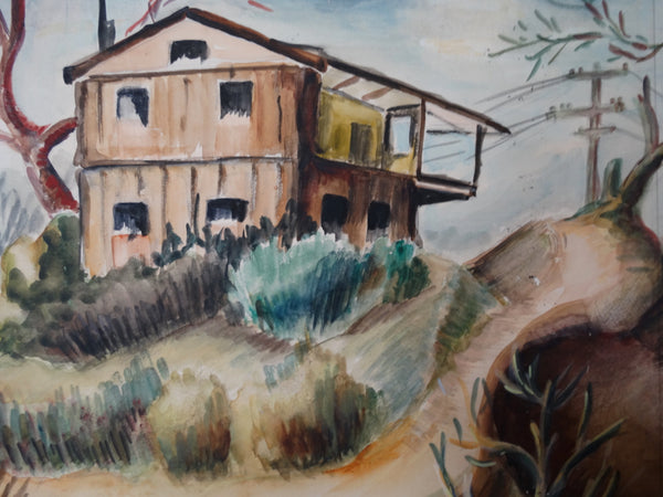 Ruth Abrams: House in the Dunes