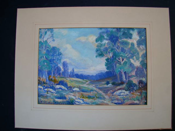 Arthur Whitebear Litts-Oil on canvas P251