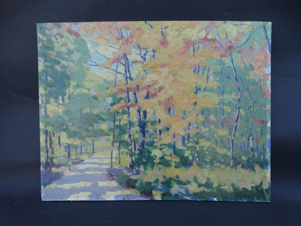 California Autumn Landscape #2 oil on art board